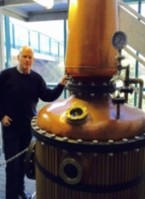 The Copper Pot Still distilling 'Grosset45'